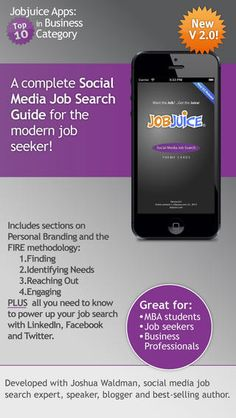 [iOS] Social Media Job Search-Jobjuice #Free - Apps Gone Free