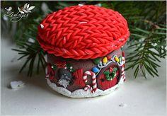 Polymer clay house by Zubiju