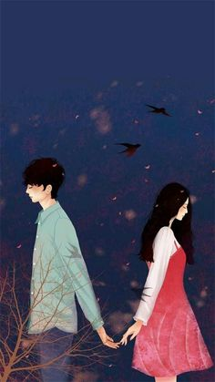 Read 2 from the story Cover Mentahan by IstiKml (IK) with reads. Cute Couple Drawings, Cute Couple Art, Anime Couples Drawings, Anime Couples Manga, Cute Anime Couples, Cute Love Wallpapers, Cute Couple Wallpaper, Cute Cartoon Wallpapers, Love Cartoon Couple