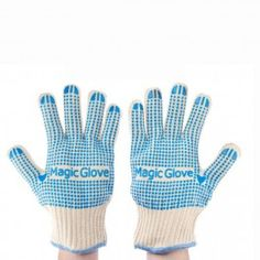 2pack flame resistant magic gloves with noslip silicon grips withstands extreme