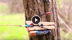 Here is an excellent idea of how to create a DIYtrip-wire alarm using just a few things you can easily find in your home.Trip wires are most well known for setting off explosives, but in this case you will be setting up a very low