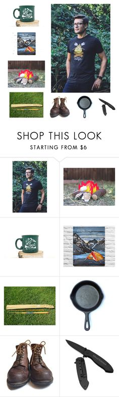 """I'm Going Camping!"" by kateduvall ❤ liked on Polyvore featuring beauty, HUGO and vintage"