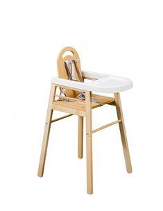 chaise haute xixe chaise haute de b b tripode en bois courb et avec une assise ronde xixe. Black Bedroom Furniture Sets. Home Design Ideas