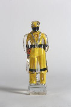 Title: Mao Star Wars Yellow Artist: Alben #gallerynine5 #Alben #Accumulation #sculpture #resin #mixedmedia #StarWars