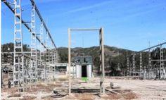 El desvío de dos líneas marca la última fase del desmantelamiento de la subestación