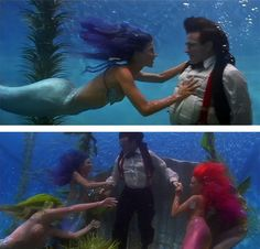 The mermaids from Hook are my favorite part