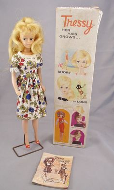 1965 TRESSY First Edition 4th Version Magic Make Up by SMNtoys Moms 50th Birthday, Childhood Toys, Childhood Memories, Doll Stands, Oldies But Goodies, Back In Time, Barbie Friends, Vintage Dolls, Cricket