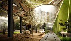 The Low Line project – the underground alter-ego of the High Line – is a proposal to build a sprawling park and recreational area in an abandoned below-ground trolley stop in New York's Lower East Side.