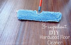DIY Hardwood Floor Cleaner - Here is a simple recipe for a great hardwood floor cleaner. It is easy to prepare so you can get done with mopping your floors fast…