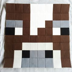 Have you taken a look at the first Minecraft Quilt Block yet, the Chicken? And yesterday I posted a tutorial on my method of using fusible grid to create the quilt blocks, be sure to take a look at…