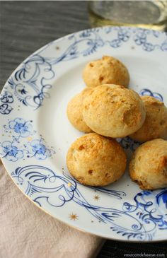 Have lots of leftover little cheese nubbins? Make gougères. Not only are these bite sized savory pastries the perfect snack, they're also easy to make and a great dumping ground for whatever you have languishing in your fridge. For me, that meant a sad hunk of blue cheese and the remnants of a tub of …