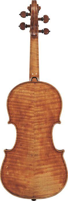Pietro Giovanni Mantegazza  (circa 1770)  A Violin Milan, circa 1770  Labelled None  Length of back: 35.6 cm