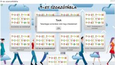 9-es szorzótábla Teaching, Math, Mathematics, Math Resources, Learning, Education
