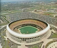 14.) Veterans Stadium.  The toilet bowl of sports.  This was cutting edge at one time.  The Vet was a dump but so was Riverfront and Three Rivers. Not a great place for baseball, maybe not even a great place for football.  But it was Philly, it was intimidating for opposing players and it was HUGE.