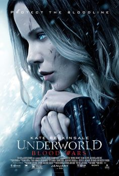 Underworld: Blood Wars (2016) R  - Vampire death dealer, Selene (Kate Beckinsale) fights to end the eternal war between the Lycan clan and the Vampire faction that betrayed her.  -   Director: Anna Foerster  -   Writers: Cory Goodman (screenplay), Kyle Ward (story by)  -   Stars: Kate Beckinsale, Theo James, Tobias Menzies -  ACTION / HORROR  -  Released:  January 6, 2017