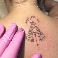 Mini Tattoos, Heaven Tattoos, Couple Tattoos, Diy Embroidery, Tattoo Inspiration, Tattoos For Women, Tatoos, Deathly Hallows Tattoo, Piercings