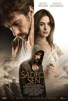 'Sadece Sen' ('Only You') is a Turkish movie, starring Belcim Bilgin, Ibrahim Celikkol and directed by Hakan Yonat. It tells the story of the passionate love between a former boxer and a beautiful blind woman Series Movies, Film Movie, Tv Series, Best Actress, Best Actor, Animated Movie Posters, Mejores Series Tv, Jaw Line, Black And White Love