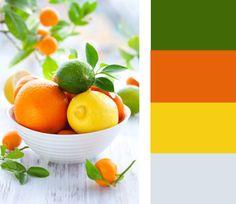 Colour Palettes: Citrus
