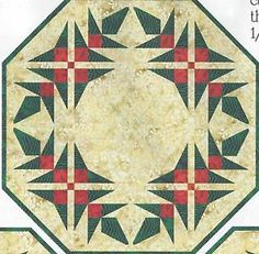 Holiday-Greenery-Christmas-quilt-pattern-by-Pam-Bono-Designs