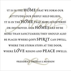 president thomas s monson quotes | Monson Fabric Board