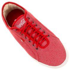Tênis Coca-Cola Line Up - Vermelho