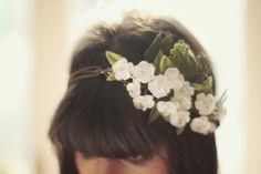 headpiece by Coeur D'artichauts; lovely