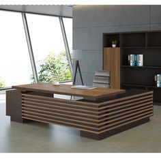 Source high quality office executive desk most popular executive table specifica. Source high quality office executive desk most popular executive table specifications on m. Corporate Office Design, Office Cabin Design, Office Furniture Design, Office Interior Design, Office Interiors, Furniture Ideas, Executive Office Desk, Ceo Office, Office Art