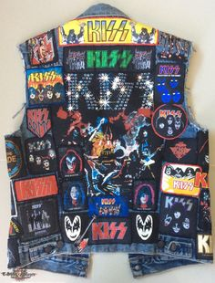 Kiss vest   TShirtSlayer TShirt and BattleJacket Gallery