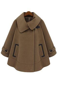 camel-a-line-cape-coat