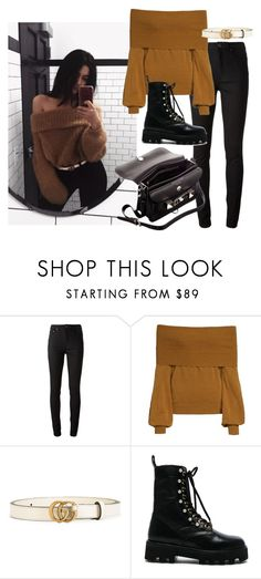 """""""instagram: florencia95"""" by florencia95 ❤ liked on Polyvore featuring Acne Studios, Treasure & Bond, Gucci, Altuzarra and Proenza Schouler"""