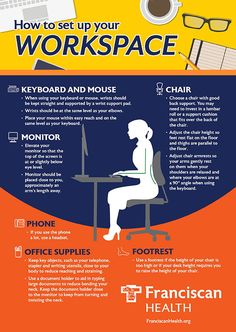 """If """"sitting is the new smoking,"""" what are office workers to do? For millions of Americans, an average workday means sitting at a desk and computer for eight or more hours. This type of work can lead to a host of musculoskeletal problems such as back pain, spinal disc hernias, carpal tunnel syndrome, neck and shoulder pain and more. Neck And Shoulder Pain, Neck Pain, How To Stay Healthy, Healthy Life, How To Read Faster, Carpal Tunnel Syndrome, Health Organizations, Wellness Tips, Health Problems"""