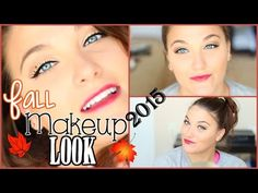 Not into the lip color, but the eye look is gorgeous! ~ Fall 2015 Makeup Look Ft. Drugstore Products | ThatCLeigh - YouTube