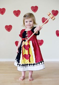 Queen of Hearts Dress 6 months - 3t