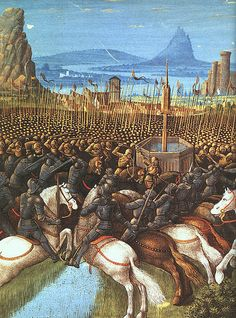 Battle of the Horns of Hattin in 1187