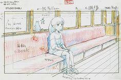 Film: Spirited Away (千と千尋の神隠し) ===== Layout Design - Scene: Always On My Mind ===== Hayao Miyazaki