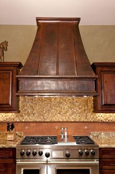 Kitchen Range Hood Ideas rustica house wall island copper range hoods for gas stove oven
