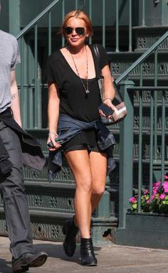 #LindsayLohan makes her way out of #Lure restaurant after enjoying lunch with friends in #NYC on September 10, 2013  http://celebhotspots.com/hotspot/?hotspotid=24709&next=1