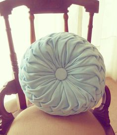 Smocked decorative Pillow Tutorial Sewing Pattern PDF  - how to fabric cover round cushion pattern - Smock Baby decorative pillow on Etsy, $7.50
