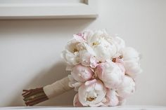 #peony, #bouquet  Photography: Jay Rowden - jayrowden.com  Read More: http://www.stylemepretty.com/2013/11/07/english-country-wedding-from-jay-rowden/