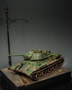 OT-34/76 Flamethrower Tank (Soviet Union)