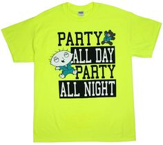 [ Party All Day Party All Night – Family Guy T-shirt ]