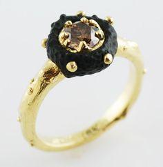 'Radiolarian Donut' Ring | Sarah Graham Metalsmithing