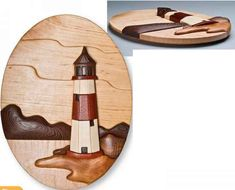 Lighthouse Intarsia More