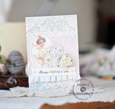 Card by Evgenia Petzer, May 2014 ♥♡♥