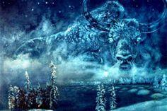 Второй рог Быка Холода, согласно якутским поверьям, ломается 24 февраля, и морозный период года заканчивается. Первый его рог сломался 12 февраля, и зима начала отступать. 22 мая рога полностью таю…