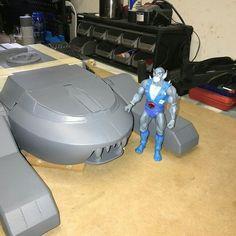 Thundertank from the thundercats 3d printed