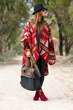 Over-size robe cardi with matching booties and giant tote is the perfect combo for anyone's winter style!