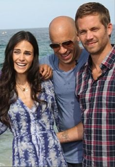 Jordana . Vin and Paul