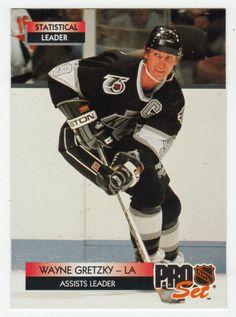 Wayne Gretzky # 246 - 1992-93 NHL Pro Set Hockey Hockey Cards, Baseball Cards, Ice Hockey Players, Wayne Gretzky, Star Wars, National Hockey League, Sport, Trading Cards, Nhl