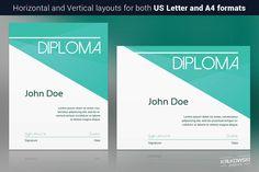 Sharp Diploma by Krukowski Graphics on @creativemarket